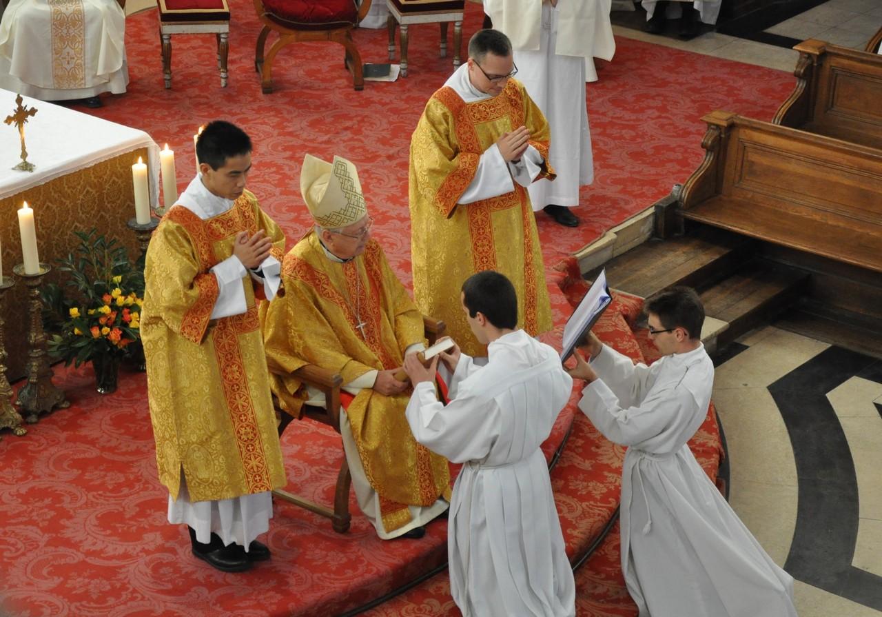 Fête du séminaire et Institutions