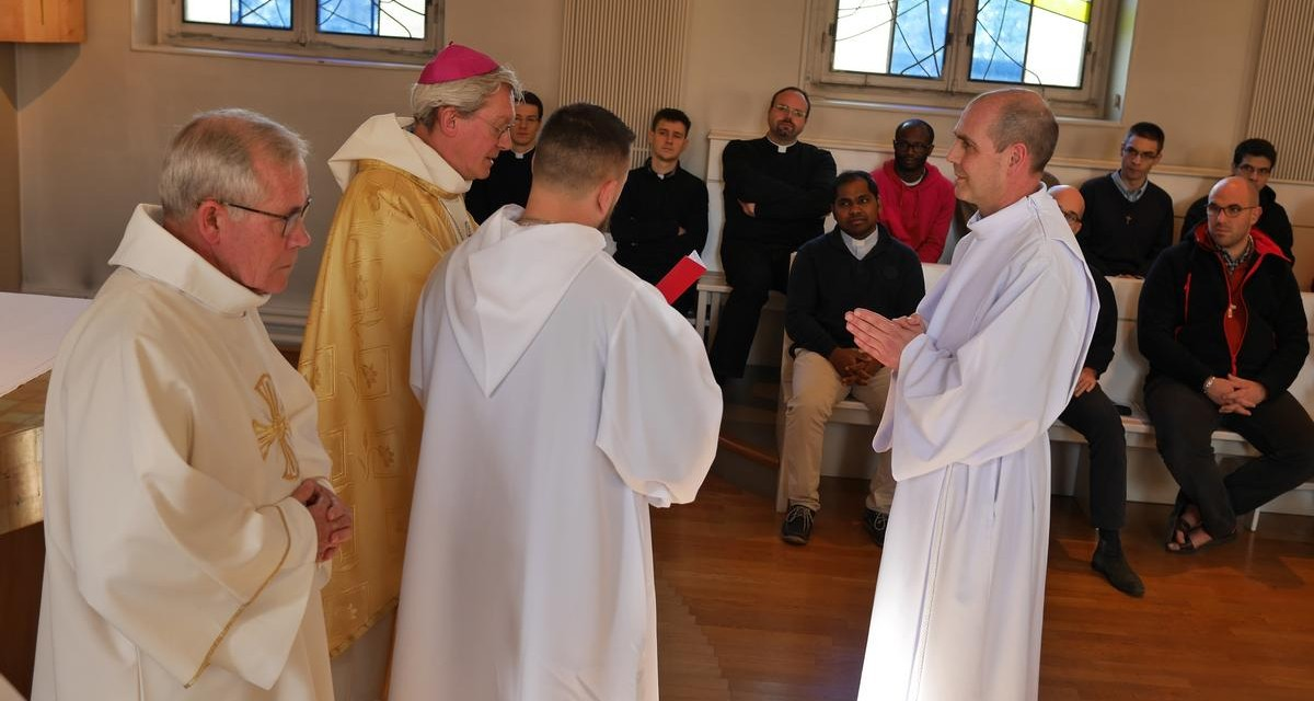 Admission d'Hervé Gossellin, du diocèse de Beauvais