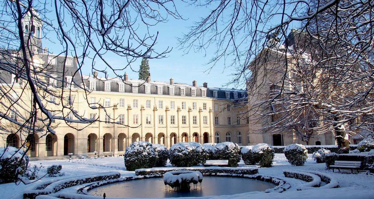 Le séminaire sous la neige