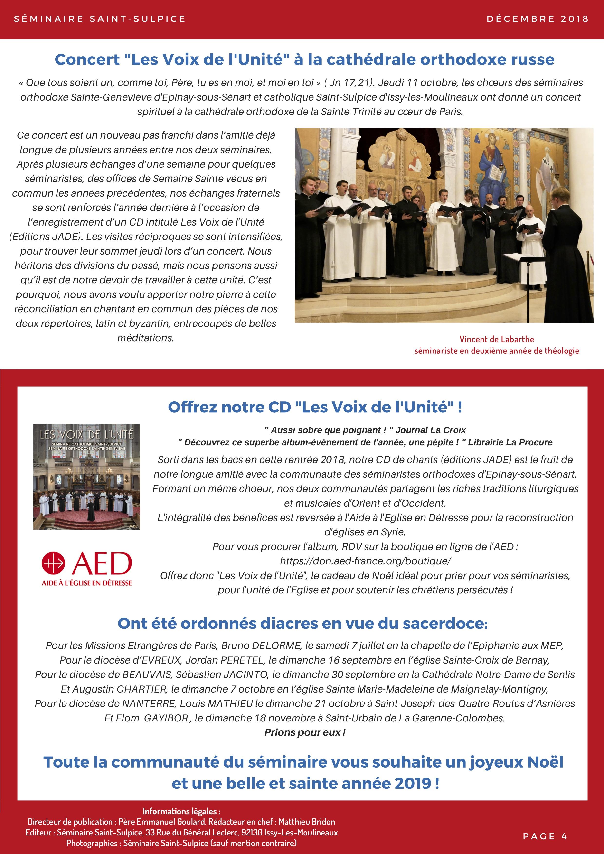 Newsletter Séminaire Saint-Sulpice décembre 2018 - p4