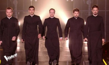 Nos amis orthodoxes sur le plateau de The Voice