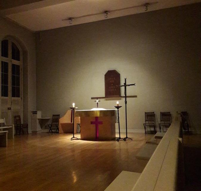 Quelques nouvelles du Séminaire pendant cet étonnant Carême