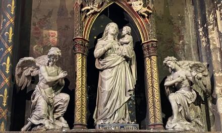Pèlerinage à Notre-Dame des Vertus