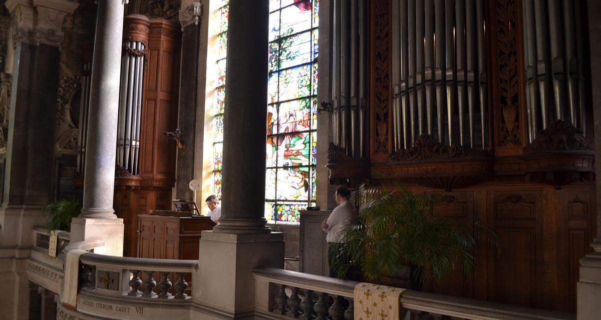 Bénédiction de l'orgue de la grande chapelle