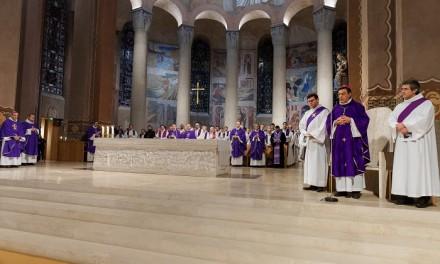 Messe d'action de grâce pour Mgr Aupetit