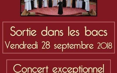 Les Voix de l'Unité : CD et concert du 11 octobre