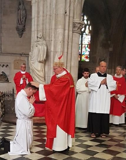 Ordinations au diaconat en vue du sacerdoce