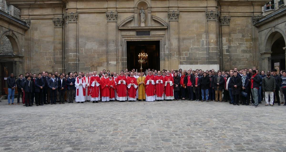 Rencontre des séminaristes d'Ile-de-France aux Carmes