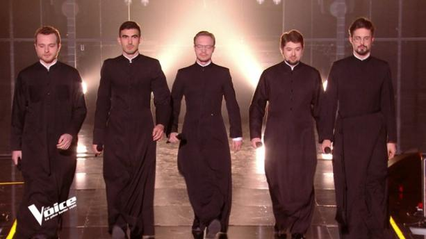 Nos amis orthodoxes sur le plateau de The Voice
