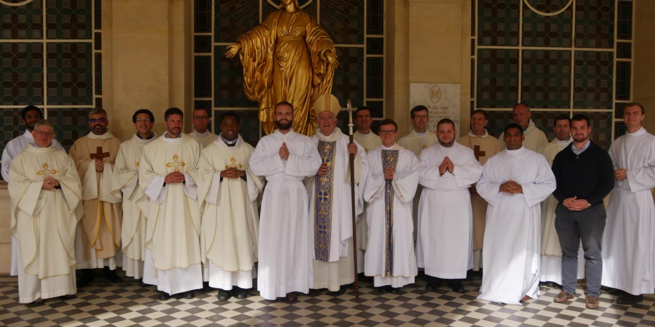 Nouvelle admission pour le diocèse de Pontoise